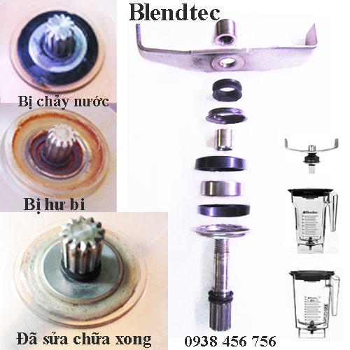 Cấu tạo bộ dao máy xay sinh tố Blentec